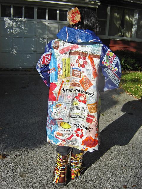 Quot 21st Century Fusion Quot Fused Plastic Bags Coat Photo 10