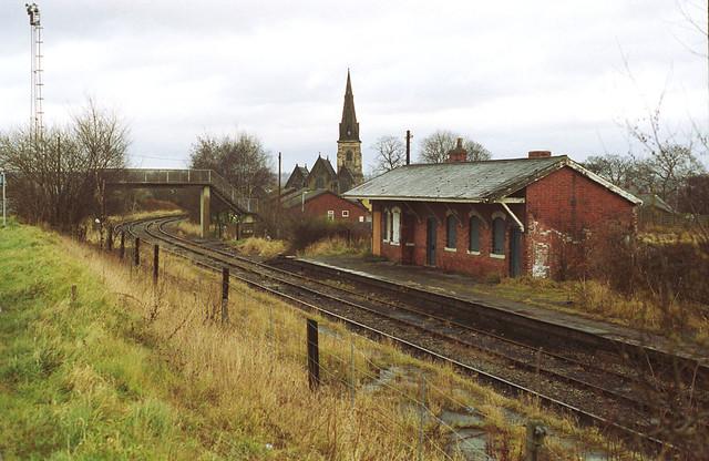 Old Station Near Silverdale Colliery Photo Was Taken