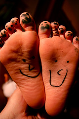 :) Smiley Face Feet 11-22-09 1 | by stevendepolo