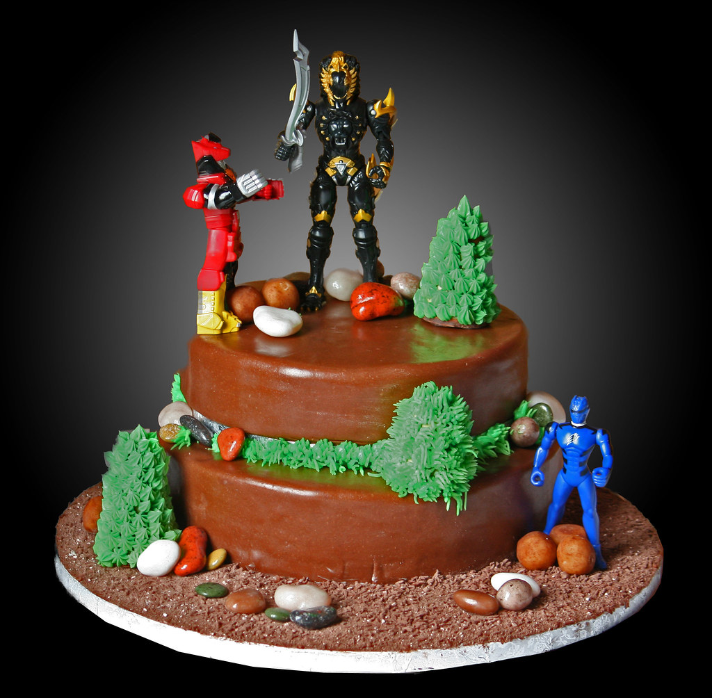 Power Ranger Cake Pan