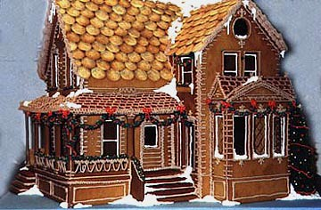 Victorian gingerbread house i apologize for the tragic for Victorian gingerbread house plans