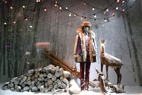 Vitrines de no l printemps de l 39 homme paris decembre 2 - Magasin deco noel paris ...