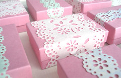 Paper Lace Boxes | by such pretty things