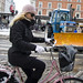 Style and Snow Removal - Cycling in Winter in Copenhagen