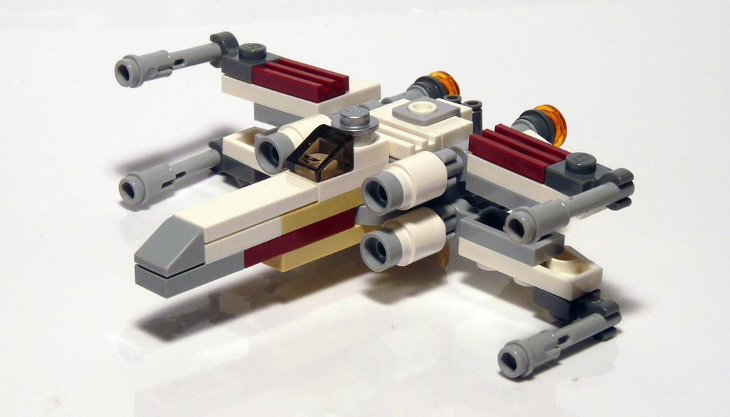 30051 LEGO Star Wars X-Wing Mini - assembled | LEGO Set 3005… | Flickr