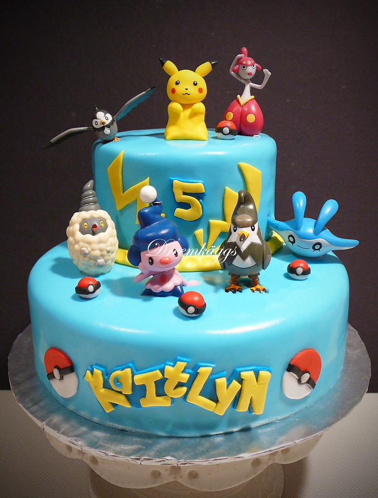 Pokemon Cakes For Boys
