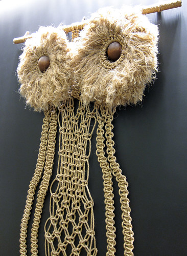 Macrame Owl at J. Crew in SOHO | by Scott Beale