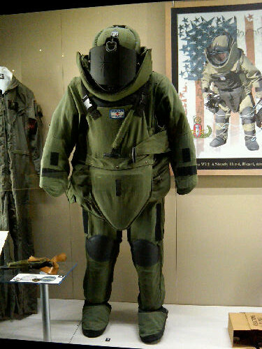 08 >> EOD Bomb Suit | Wright-Patterson Air Force Base, Dayton, Ohi… | Flickr