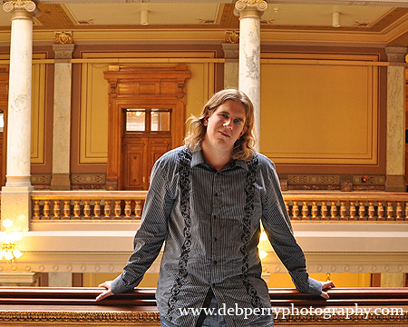 Justin at the Indiana Statehouse | by deeindiana