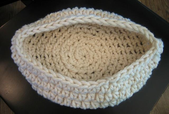 Baby Cocoon Pattern - Pod - Nest - Cream Newborn Cocoon ...
