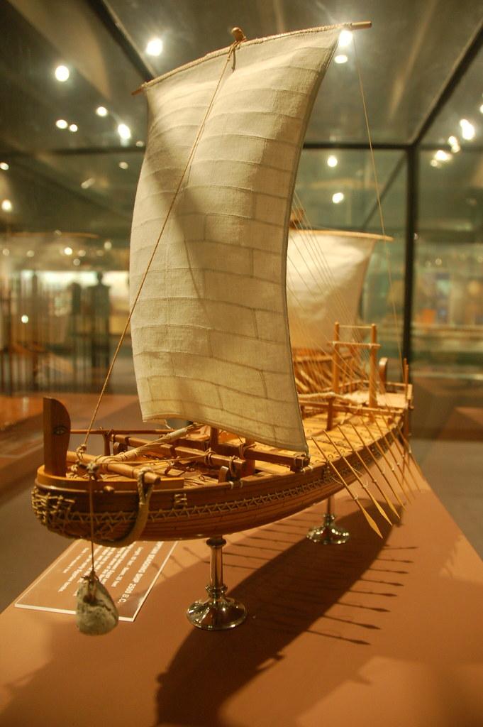 Museum Of Science Boston Phoenician Ship Model Chris