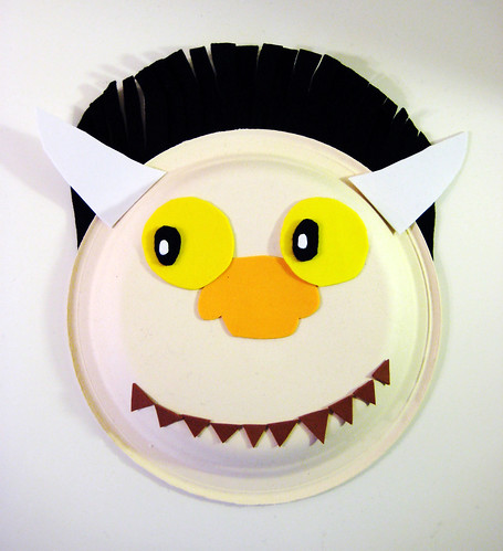 3: Where the Wild Things Are Mask: Foam Facial Features | by spin off stuff