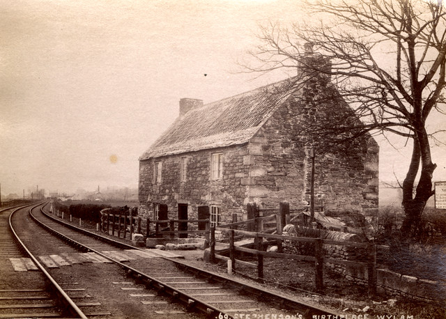 002815:George Stephenson's Birthplace Wylam C.1890 | Flickr