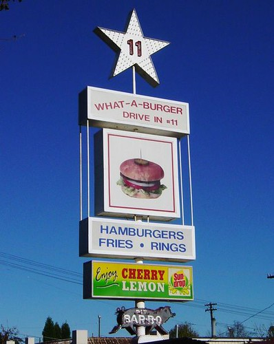 what a burger sign mooresville nc burgers fries rings flickr. Black Bedroom Furniture Sets. Home Design Ideas