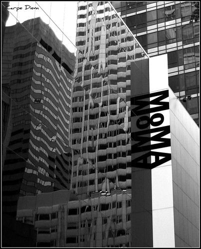 exterior reflection moma new york city the museum of mod flickr. Black Bedroom Furniture Sets. Home Design Ideas