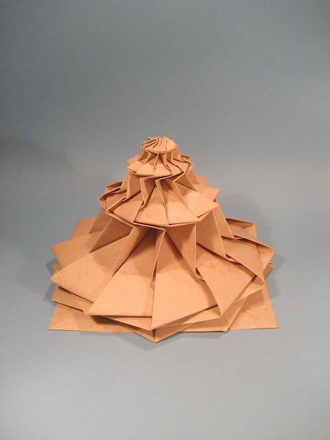 Flower tower chris palmer from between the folds flickr flower tower chris palmer by gio origami mightylinksfo