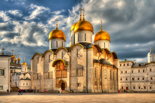 Dormition Cathedral,Kremlin,Moscow,Russia  Dormition ...