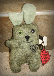 Zombie Love Bunny | by Miss Caycee