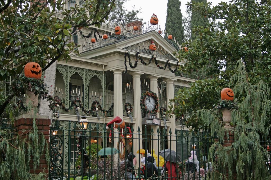 haunted mansion disneyland anaheim california usa flickr
