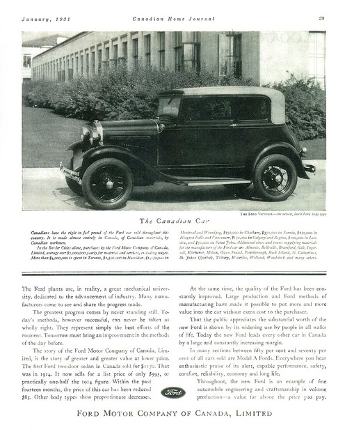 1931 Ford Motor Company Canada Pr Flickr Photo Sharing