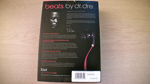 Beats Tour Controltalk Broken