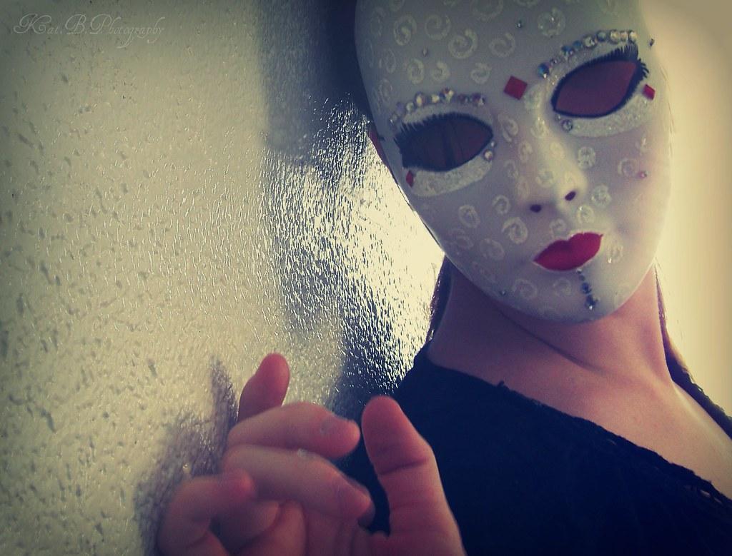 wearing a mask poem