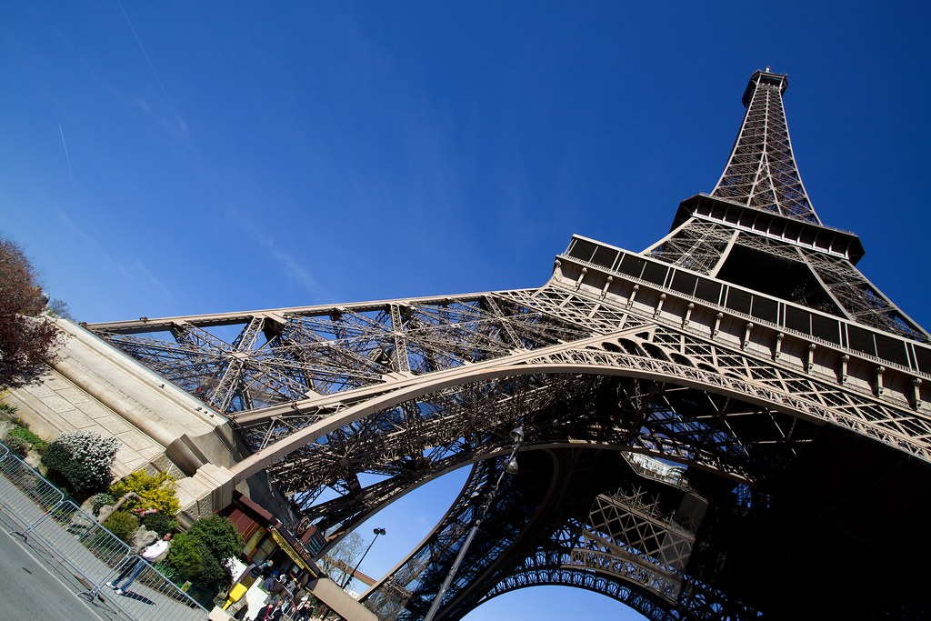 Eiffel Tower Dutch Angle Thank You For Viewing My Images