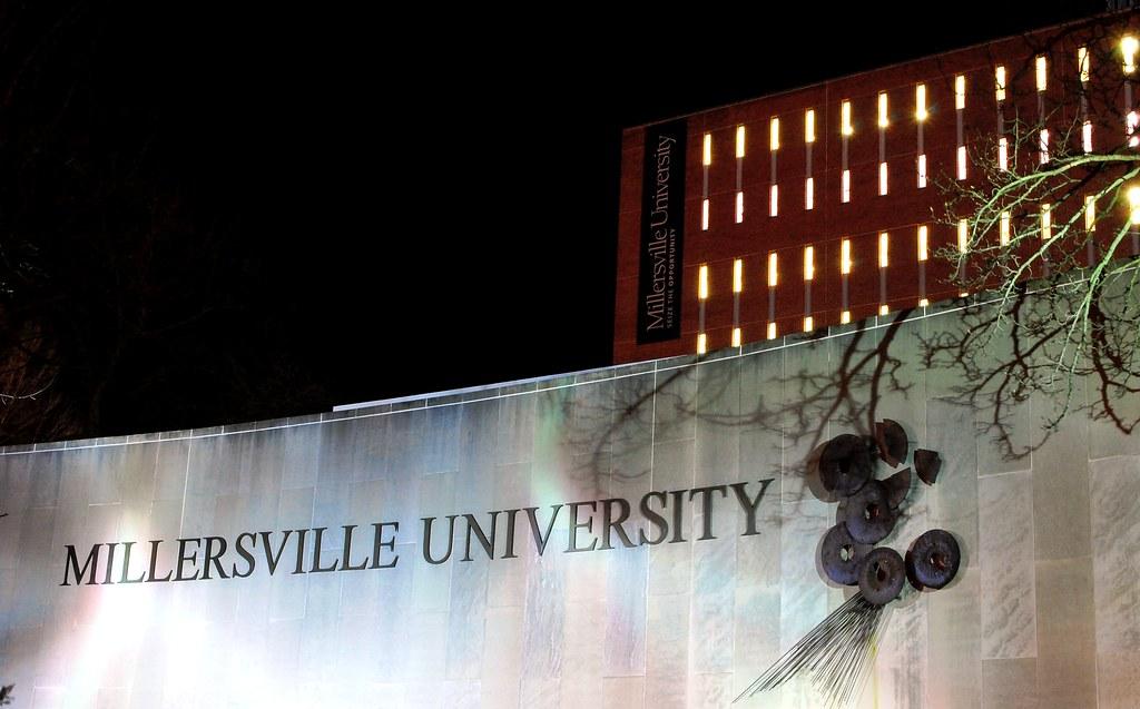 Millersville University Map Millersville University Sign