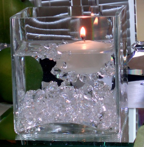 Fire Amp Ice Centerpiece Dining Delight Flickr