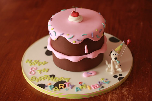 Drippy Cake Icing