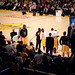 LAKERS BENCH VIEW FROM PR2 ROW 2 - KOBE MY MAN !