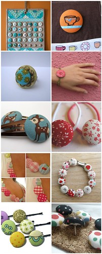 Covered button projects | by KirstyNeale