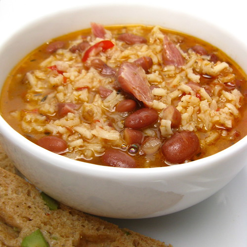 Red Beans & Rice Soup | by katbaro