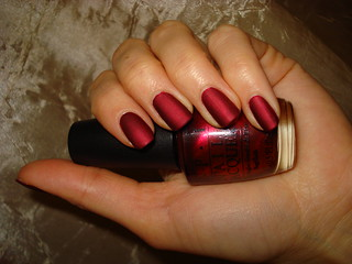 OPI - Ruby Stars (Moscow Loves OPI collection - fall 2009 Russia Exclusive) + Essie M.A.Y. | by DelodyLady