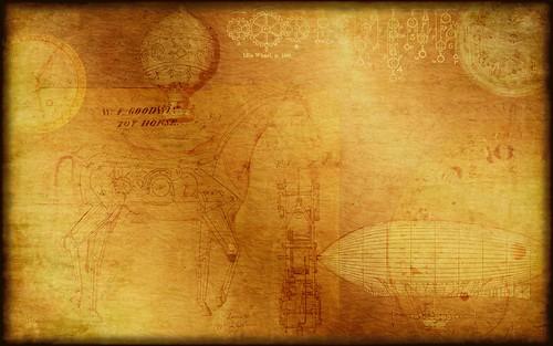 Steampunk Wallpaper/Background | A Steampunk inspired ...