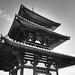 Three-story pagoda [Hokkiji Temple] #1/3