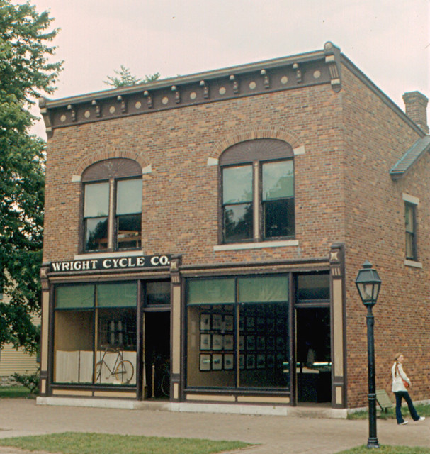 Greenfield Village Wright Brothers Bicycle Shop Flickr