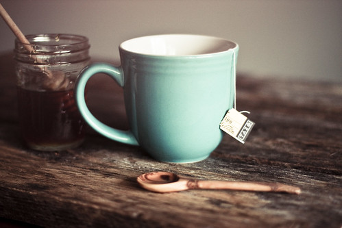 Come, let us have some tea and continue to talk about happy things | by hannah * honey & jam
