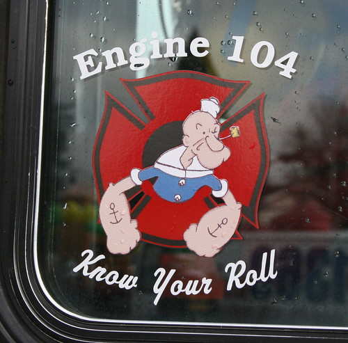 Popeye on a Fire Engine | by born1945