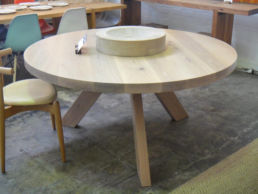 Mark tuckey round tripod table for Markup table