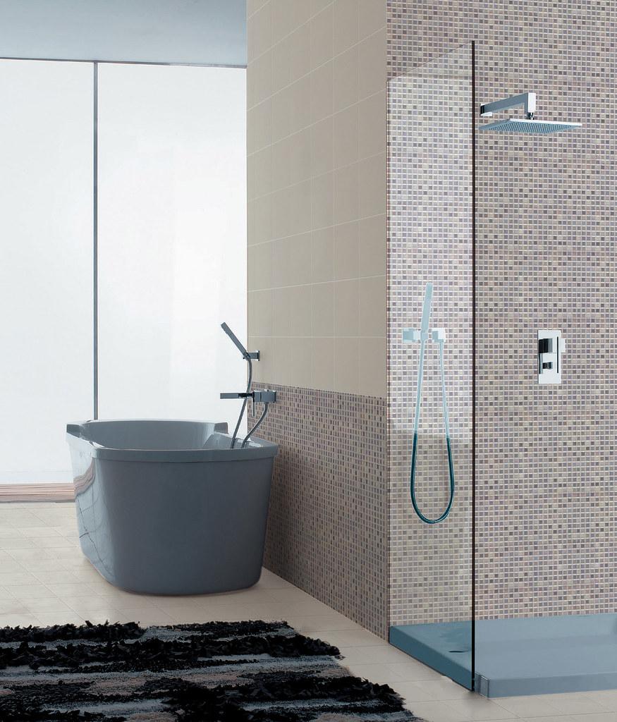 Mosaictherapy Bagno Mosaicth Glicine   Idea Ceramica   Flickr
