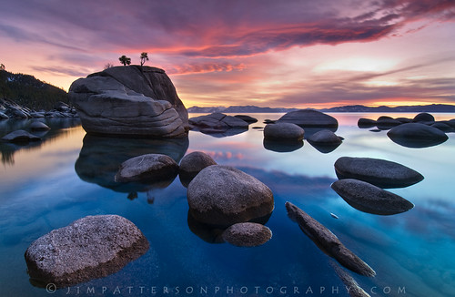 Bonsai Rock - Lake Tahoe, Nevada | by Jim Patterson Photography