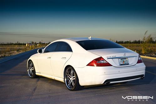 Mercedes Benz Cls550 With Vossen Vvs 085 Wheels Mercedes B Flickr