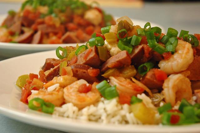 Chicken, Sausage, and Shrimp Jambalaya | Flickr - Photo Sharing!