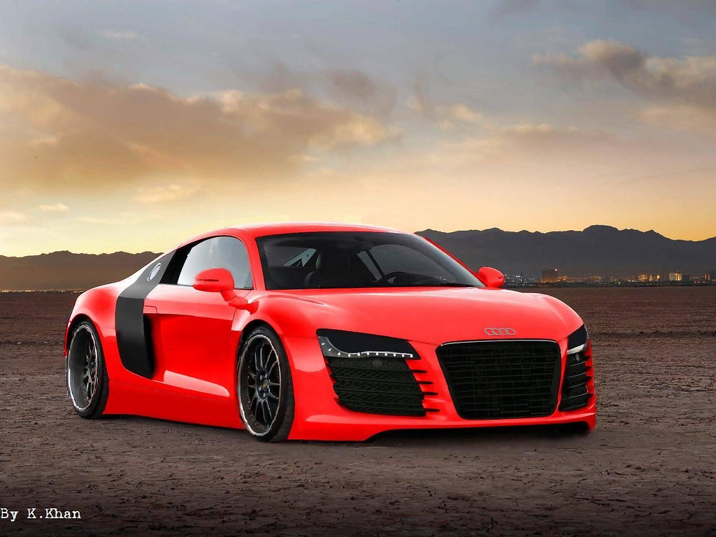 Audi R8 Red Audi R8 Virtual Tuning Kumar Khan Flickr