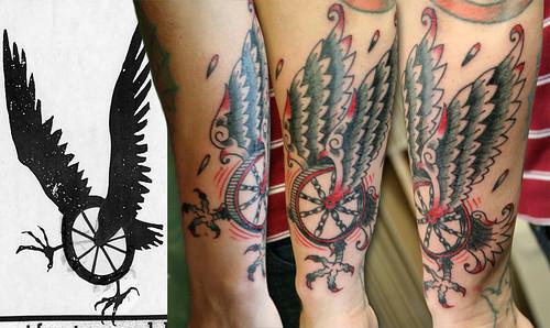hawk tattoo new tattoo by matt decker at premium in