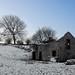 Snowy Field Barn