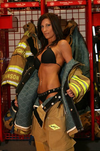 naked fireman poster