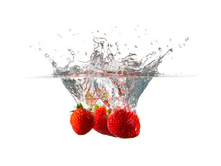 Strawberries in Water | by Louish Pixel