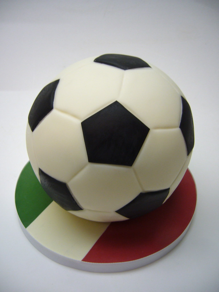 Soccer Ball Cake A Birthday Cake For A Fan Of Italy S